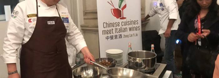 Chinese Cuisines meet Italian Wines at the VII Italian Cuisines in the World Forum in Milan